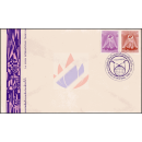 1. Asiatische Internationale Handelsmesse, Bangkok -FDC(I)-