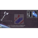 1st Year of Launch LAO SAT-1 -FDC(I)-