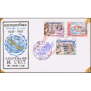 100 Jahre Internationale Fernmeldeunion (ITU) -FDC(I)-