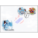 100 years International Football Federation (FIFA) -FDC(I)-