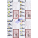 100 years Ministry of Mineral Resources -STAMP BOOKLETS-