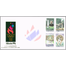 Centenary of the Modern Olympic Games -FDC(I)-