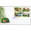 110 Years of Army Medical Department, RTA. -FDC(I)-