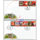 125th Anniversary of Thai Postal Service (II) -FDC(I)-
