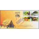 20 years Luang Prabang on the World Heritage List of UNESCO -FDC(I)-