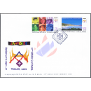 The 20th World Scout Jamboree 2003 -FDC(I)-
