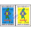 30 years ASEAN - Inclusion of Burma in ASEAN