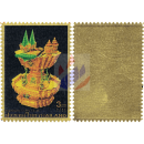 50th enthronement of King Bhumibol (III): Royal treasures -GOLD STAMP-