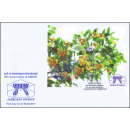 50th Anniversary of ASEAN: CAMBODIA - Rumdul (332A) -FDC(I)-
