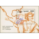 500th anniversary of the discovery of America (1492) (II)...