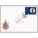 60th Birthday of Queen Sirikit (I) -FDC(I)-
