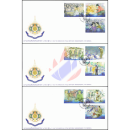 H.M. the Kings 6th Cycle Birthday Anniversary (III) -FDC(I)-