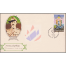 75th Anniversary of World Scout -FDC(I)-