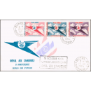8th year airline Royal Air Cambodge (RAC) -FDC(I)-