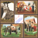 80th birthday of King Bhumibol (III): The kings first white elephant (MNH)