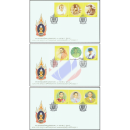 H.M. the Kings 80th Birthday Anniversary (II) -FDC(I)-