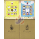 H.M. the King´s & Queen´s 80th Birthday Anniversary -FOLDER-
