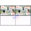 80 Years of Foundation for the Blind -BRAILLE -PAIR- (MNH)