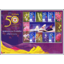 SONDERBOGEN: 50 Jahre Thai Airways - Orchideen