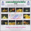 Anti-Tuberculosis Foundation, 2548 (2005) -Night Scene of Bangkok from the birthday celebration SM the king- (MNH)