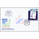 Bangkok - Welthauptstadt des Buches 2013 -FDC(I)-IS-