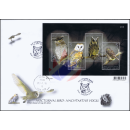 Nocturnal Bird (Owl) - The Night Hunter (308) -FDC(I)-