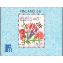 FINLANDIA 88, Helsinki: Butterflies and Flowers (124A)