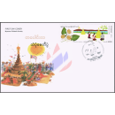 Festivals in Myanmar: Sand Pagoden Festival -FDC(II)-I-