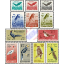 Stamps: native birds, modified picture formats