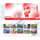 Definitive: Tourist Spots Mountains -STAMP BOOKLET-