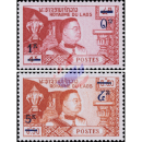 Definitives: Fatherland, Religion, Monarchy and the Constitution -OVERPRINT-