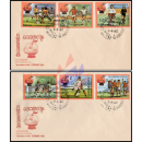 Soccer World Cup, Spain -FDC(I)-