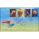 Thailand - Malaysia Joint Issue - marine species -FDC(I)-