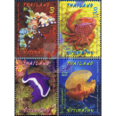 Thailand - Malaysia Joint Issue - marine species