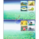 Thailand - Maldives Joint Issue -FDC(I)-IT-