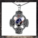 Gothic cross with filigree ornaments (III)