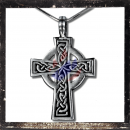 Gothic cross with filigree ornaments (V)