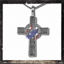 Gothic cross with ornaments (I)