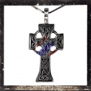 Gothic cross with ornaments (IV)