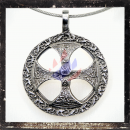 Gothic massive cross as an amulet