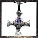 Large Gothic double cross with ornaments