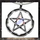 Large Pentacle with double circle