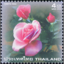Greeting Stamp: Rose Bluenile