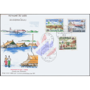 Flood victims in Laos -FDC(I)-