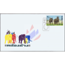 Elephant Round Up -FDC(I)-