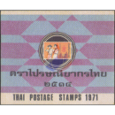 Yearbook 1971 from the Thailand Post with the issues from...