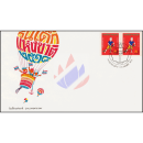 Childrens Day 1975 -FDC(I)-