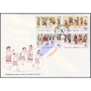Childrens Day 1991 -FDC(I)-