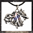Small filigree dragon (III)