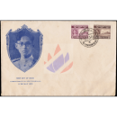 The Coronation of H.M. King Bhumibol (274+277) -FDC(I)-
